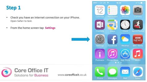 Office 365 On Iphone by Set Up Microsoft Office 365 On Your Iphone