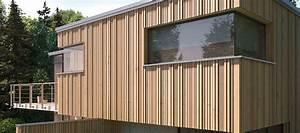 Holzfassade Welches Holz : fassade von holz hauff aus leingarten unvergleichliche atmosph re ~ Yasmunasinghe.com Haus und Dekorationen