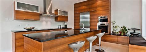 photos cuisine moderne cuisines modernes tendances conçues fabriquées au québec