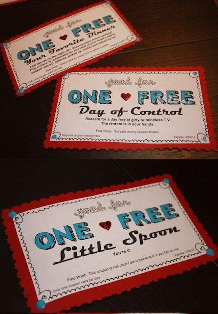 cute love coupons  boyfriend  girlfriend
