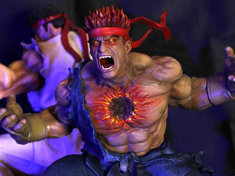 Street Fighter The Beast Unleashed 14 Scale Diorama