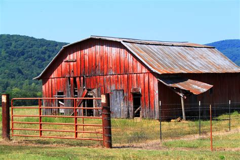 Faded Old Barn In Arkansas Image