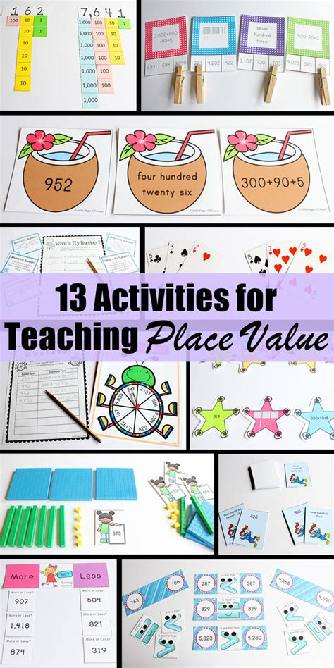 116 best images about place value lessons on
