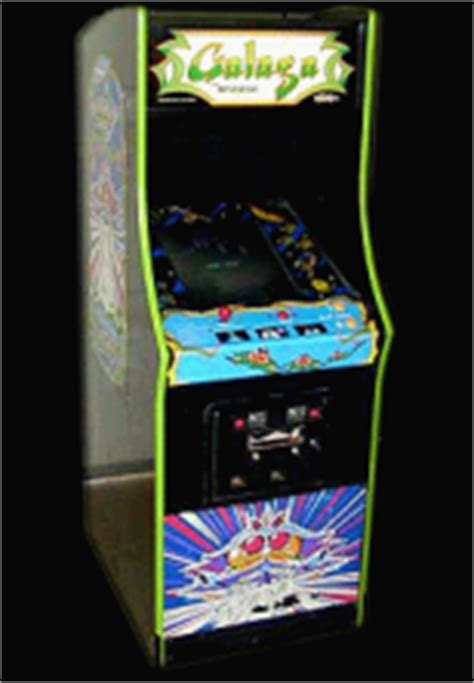 Galaga Arcade Machine Cheats by Caesar Galaga Namco Rev B