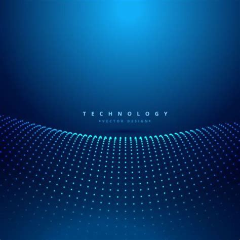 blue teachnology backgrounds modern vector  vector