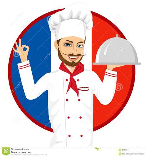 les chefs de cuisine francais chef français de cuisine avec la grande moustache drôle