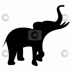 Baby Elephant Clipart Black And White | Clipart Panda ...