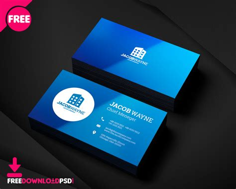 real estate business card psd freedownloadpsdcom