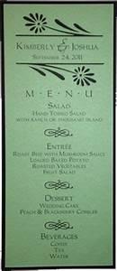tea size wedding menu template 1 With size of wedding menu cards