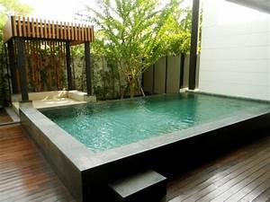 Kleiner Pool Für Terrasse : 96 verbl ffende fotos vom garten pool ~ Orissabook.com Haus und Dekorationen