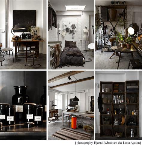 deco bureau industriel un petit bureau industriel en noir et blanc paperblog