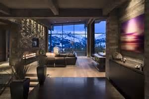 mountain homes interiors mountain mimic the interior of this beautiful house mimics the mountain view