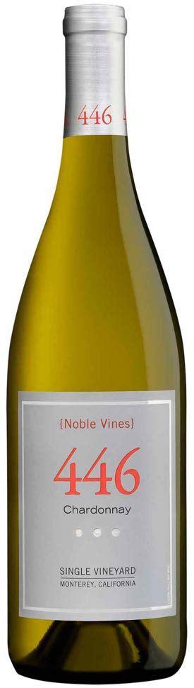 Noble Vines 446 Monterey 2014 Chardonnay 750ml Noble Vines
