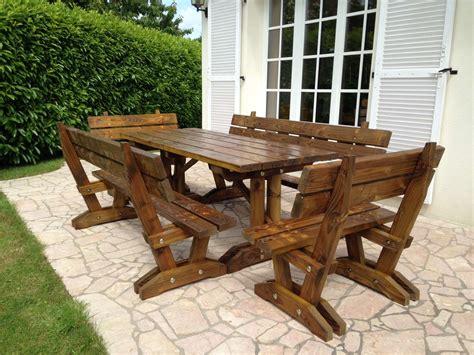 table en bois exterieur myqto