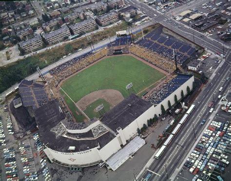 sicks stadium history      seattle