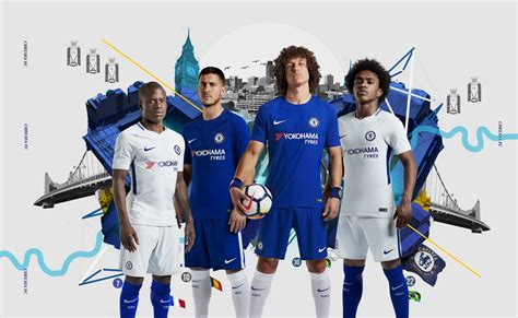 Chelsea FC and Nike Join Forces To Unveil Home and Away ...
