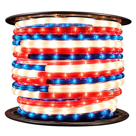 Red White And Blue Light 150 Ft Spool