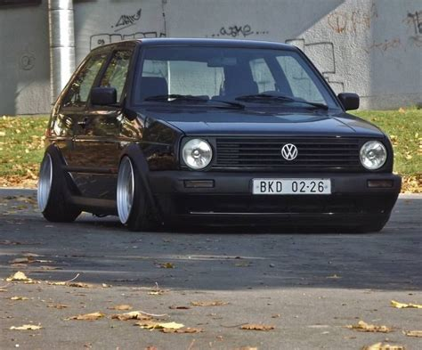 slammed volkswagen golf slammed volkswagen golf mk2 mk2gang mk2crew lowered