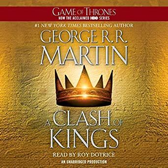amazoncom  clash  kings  song  ice  fire book  audible audio edition george