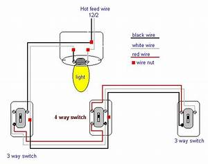 Ceiling Fan Four Way Switch Wiring Diagram
