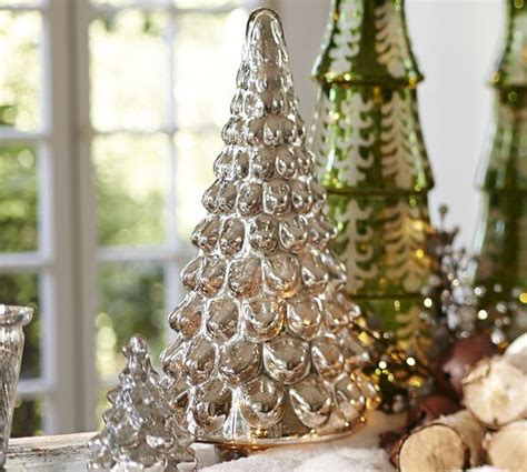 pottery barn tree 17 best images about mercury glass trees on