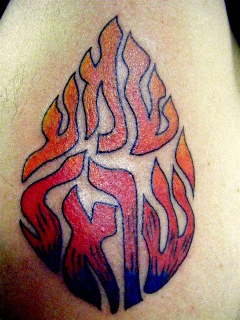 fire flame tattoo images designs