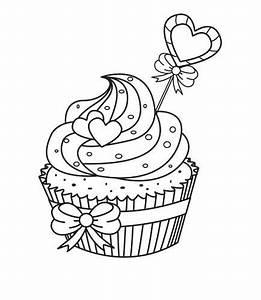 Cupcake Malvorlage Ausmalbilder von Alle Malvorlagen