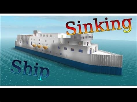Sinking Ship Simulator Roblox by Sinking Ship Simulator In Roblox