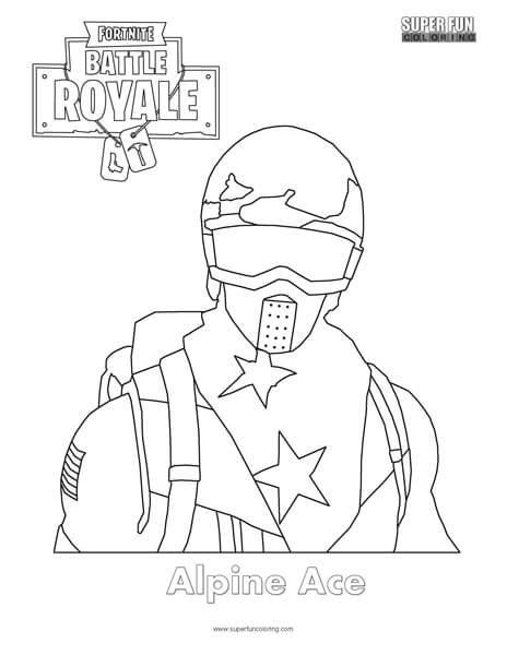 Fortnite Raven Coloring Page Super Fun Coloring