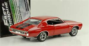 Véhicule Chevy Chevelle SS Rouge 1970 Fast and Furious 4 ...