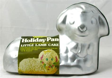 german easter lamb cake recipe  lamb molds
