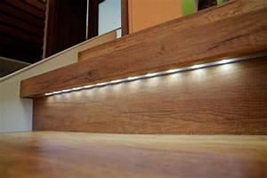 Treppenrenovierung LED Treppenbeleuchtung HPING