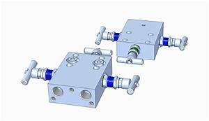 Md33f 3-valve Manifold  F-type