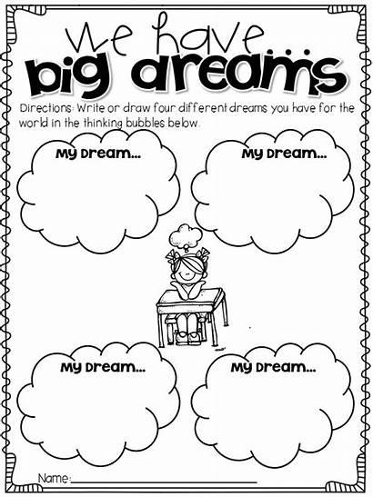Luther Martin King Activities Jr Writing Teaching