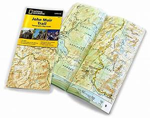 John Muir Trail Topographic Map Guide  National Geographic