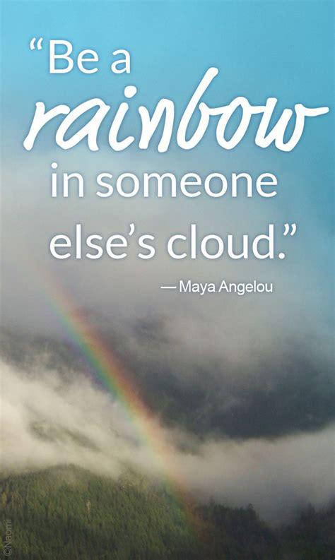 brighten someones day today   rainbow