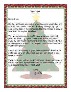 letter  santa  ideal   child