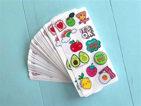 custom sticker sheets custom sticker printing print your stickers online