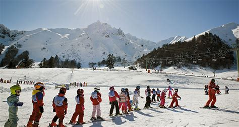 ski resorts mont dore winter sports in auvergne