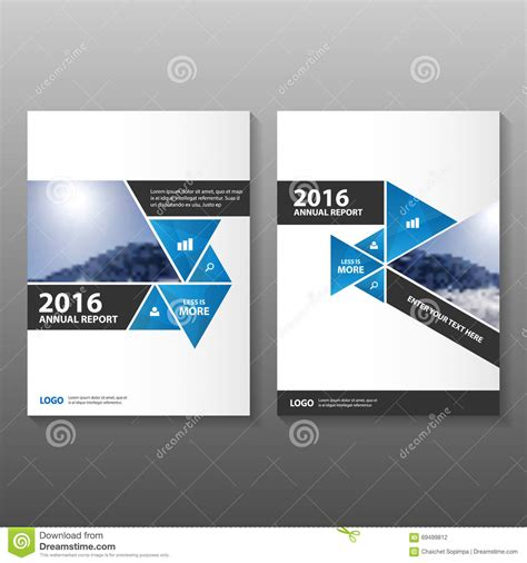 annual report cover in abstract design vector free abstract black blue annual report leaflet brochure flyer