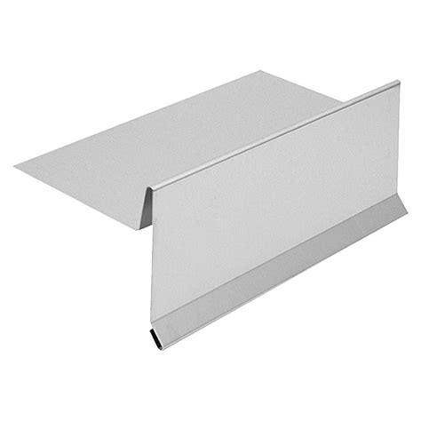 ortblech mit wasserfalz sarei ortblech ohne wasserfalz aluminium l 228 nge 2 000 mm bauhaus