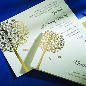 black letterpress with gold foil invite from the letter With black and gold wedding invitations uk