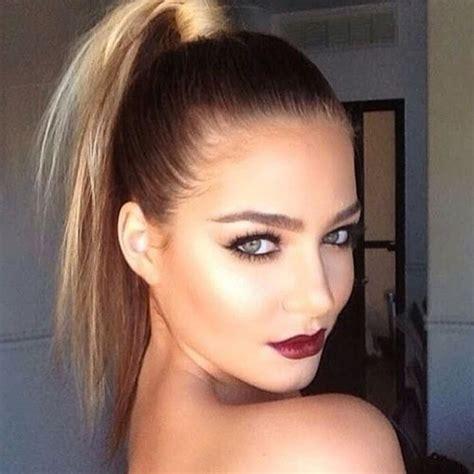 ball hair  makeup inspo true grit