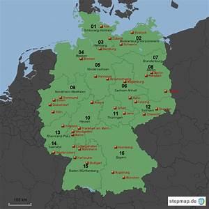 Schönsten Städte Deutschland : deutschland gr te st dte von n trey landkarte f r deutschland ~ Frokenaadalensverden.com Haus und Dekorationen
