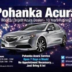 Pohanka Acura Reviews by Pohanka Acura Car Dealers Chantilly Va Yelp