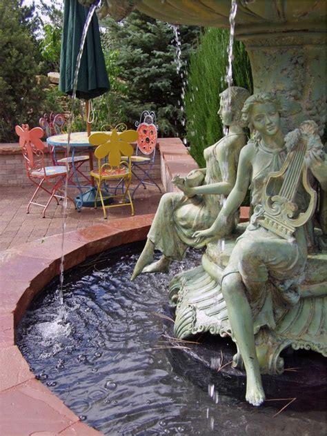 water features garden diy hgtv fountain classic inspiring originally posted plantedwell