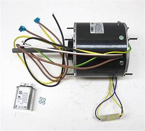Ac Air Conditioner Condenser Fan Motor 1  3 Hp 1075 Rpm 230