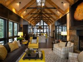 mountain home interior design ideas rustic mountain style lake tahoe home idesignarch interior design architecture