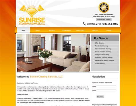 Website Designing-cleaning Company Website Designers