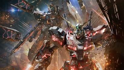 Gundam 4k Burning Wallpapers Check Versus Playstation